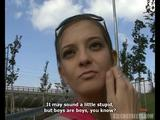 Beautiful Czech Girl Blows This Lucky Cock Where Everybody Can Watch