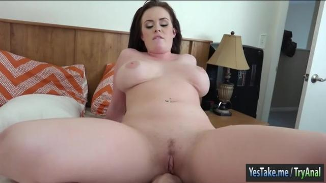 First time anal caught on cam